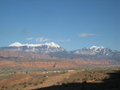Pipe Dream, above Moab township.
